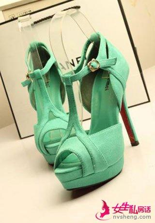 2013年新款鱼嘴鞋 突显你的美