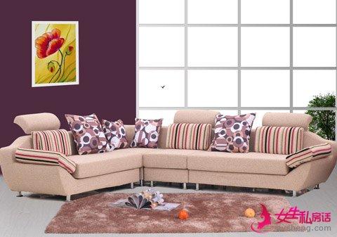 让家居感更温馨的布艺沙发挑选窍门