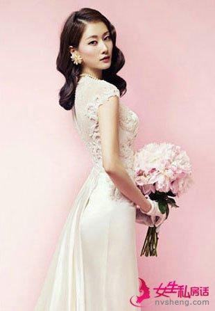 15款韩式新娘发型 变身时尚新娘