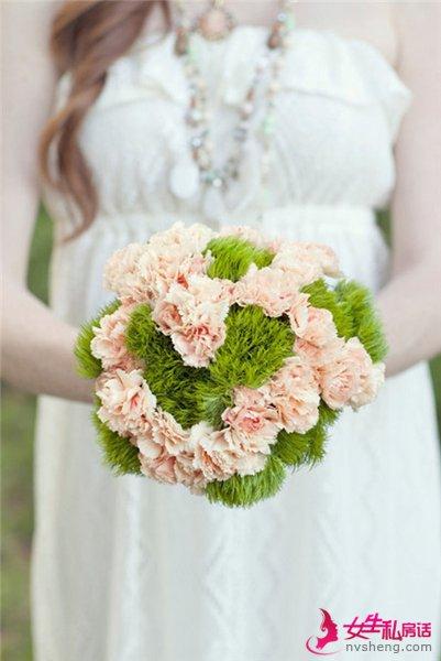 清新新娘手捧花