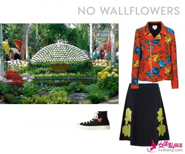 春季最in印花单品 把花园穿上身