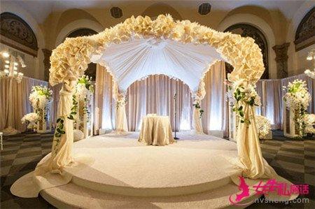 婚礼现场布置