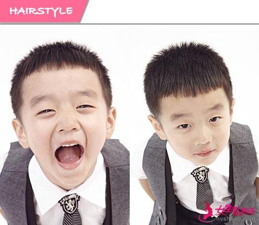 爸爸2儿童发型图片 萌娃抢镜不分上下