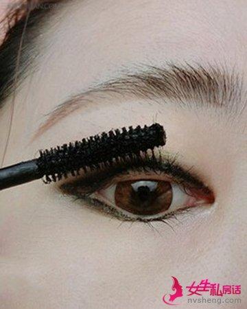 打造魅力电眼速成眼妆化法