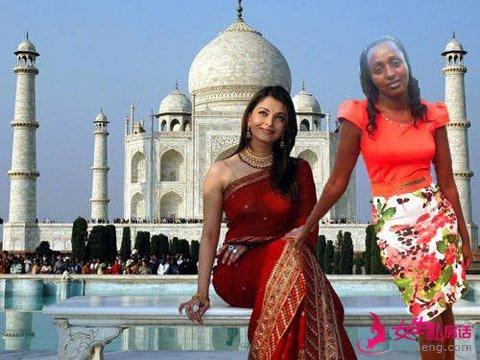 肯尼亚大姐PS旅游照走红 被赞助来中国