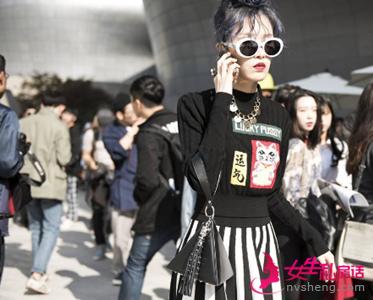 韩国时装周街拍