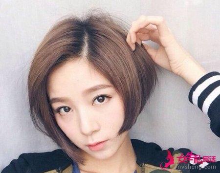 韩国妹子都在留短发 拿着图片去找你的发型师就对了!
