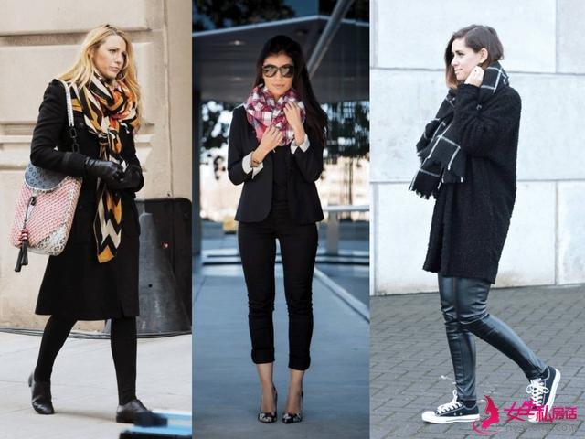 这些围巾怎么搭衣服都好看! | 时尚技术流