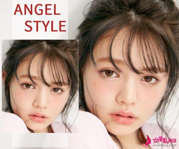 天使&魔女 风格相反的约会妆你选哪个