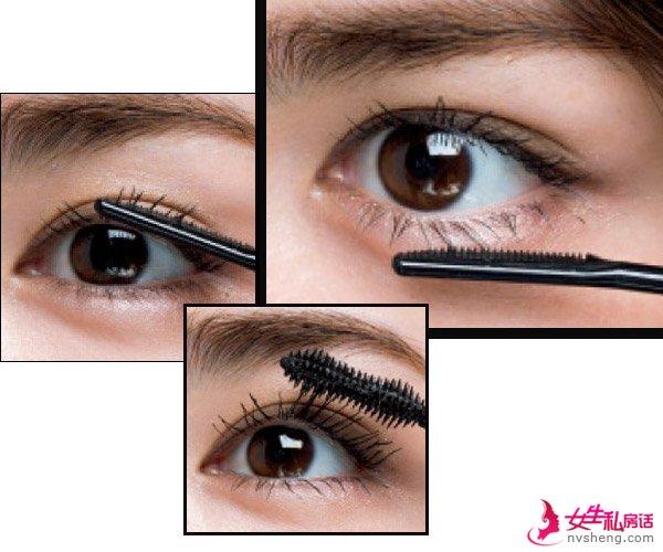 刷睫毛的方式不对?四种方法还你一双电眼!