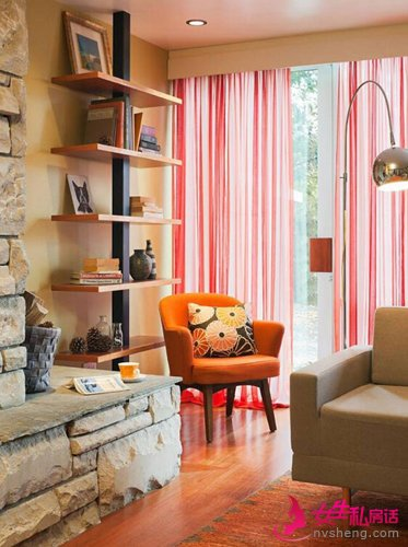 7款独特美学客厅装修设计效果图 三联