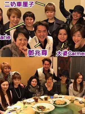 他曾在TVB跑龙套 如今三个女友在