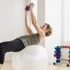 瑜伽球减肥方法教程 每天10分钟