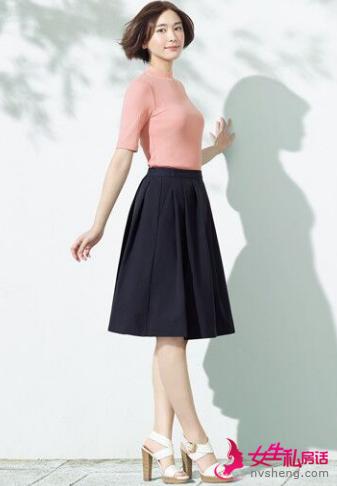 新垣结衣演绎春季空气感搭配 教你搭配时尚简约风