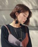 短发如何配耳环 短发的女生配耳