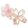 3月去赏樱 戴上这些樱花粉饰品吧