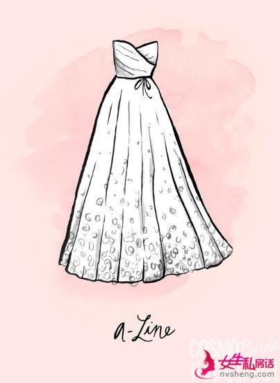 A字型礼服