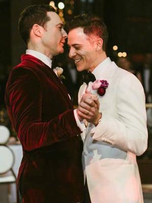 谢耳朵和男友完婚 婚礼现场照曝