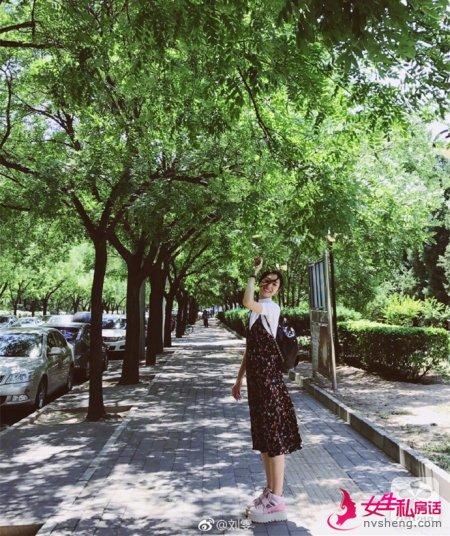 超模刘雯的私服穿搭 舒服简约是主打