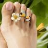 夏天解放双脚 戴上脚戒指才是真