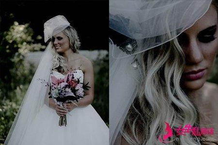 森林系婚纱照风格 打造田园气味的完美新娘