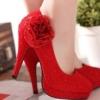 新娘婚鞋挑选技巧 让你婚礼更显