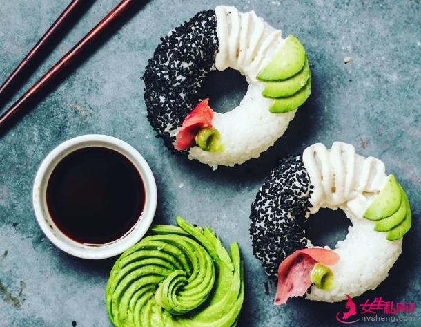 寿司甜甜圈,颜值和口感都在线!