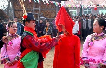 奇葩的北方结婚习俗 要在中午举行婚礼