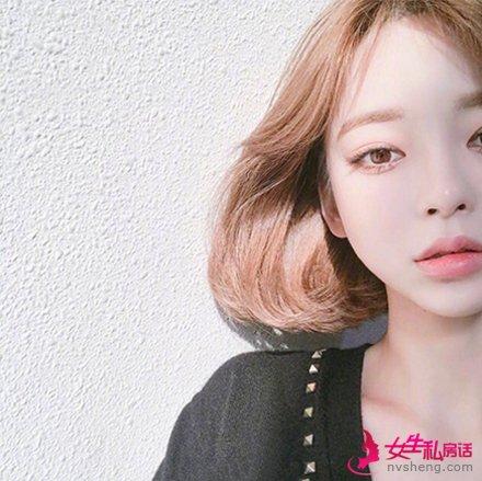韩国最新短发发型 最适合妹子们的发型