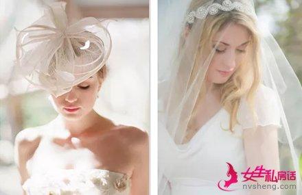 新娘头纱的戴法 打造最完美的你