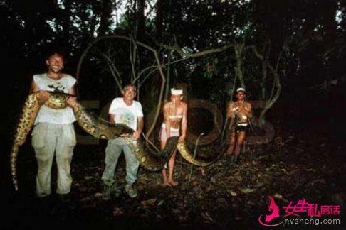 活久见 四川惊现罕见巨蟒据说有55米