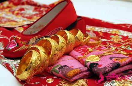 结婚当天女方嫁妆清单 传统的新娘嫁妆