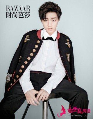 王俊凯单人时尚封面首秀,杂志销量破纪录!