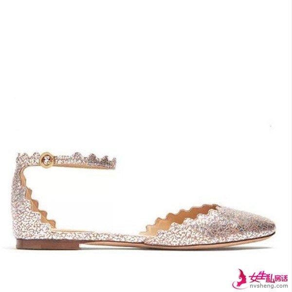 一物多穿的时尚平底婚鞋 引领婚界新时尚