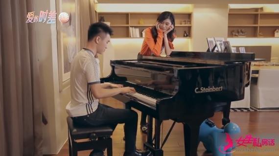 感情升温!何猷君为哄奚梦瑶开心 又弹钢琴又按摩