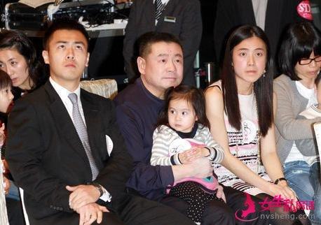 刘銮雄换肾后第一胎