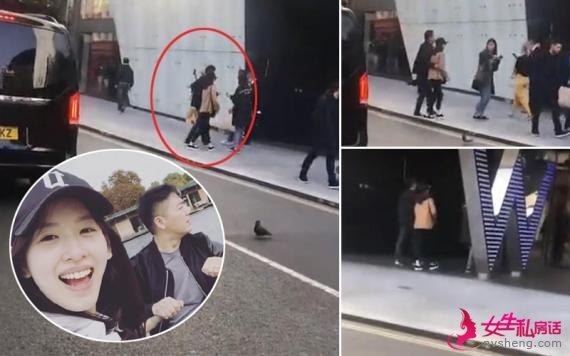 刘强东章泽天合体现身伦敦 夫妻甜蜜搂腰似连体人