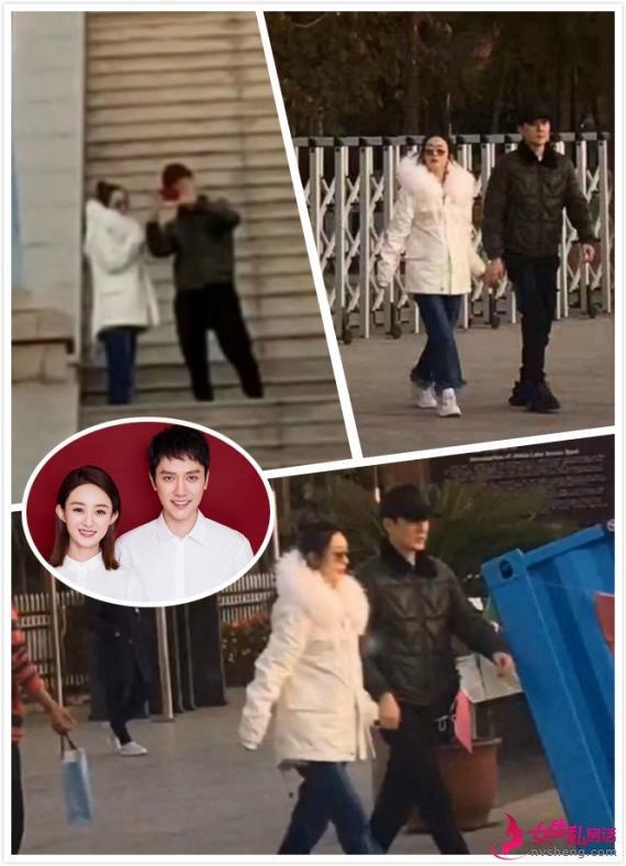 网友偶遇冯绍峰夫妇游玩 赵丽颖肚子藏不住了
