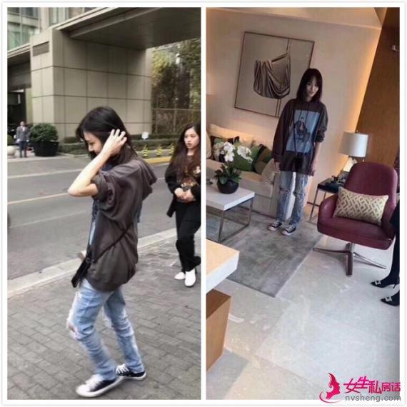 颜值能打!网友偶遇郑爽上海看房 身材纤瘦面露灿笑