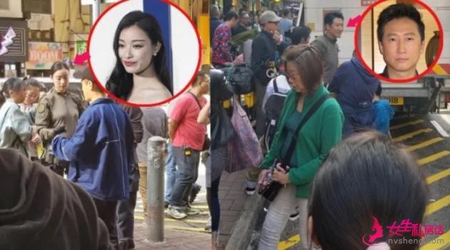 3月12日,《拆弹专家2》在香港旺角街头拍摄洪天明和倪妮的戏份。