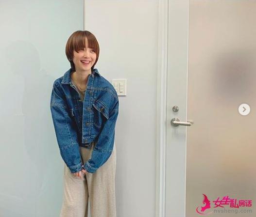 原创 刘亦菲新发型落伍了,宋智孝一口气剪及肩短发,本季最强发