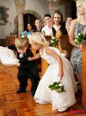 婚礼上的小花童怎么选?花童需要