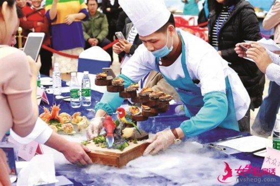 特色海鲜客家风味美食为大亚湾旅游增添亮色。