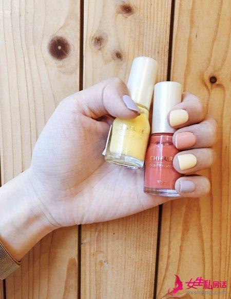 秋冬土色指彩当道,趁春夏季把缤纷色彩还给指甲。