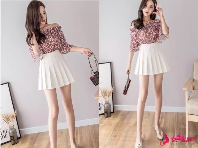 """夏季非常简约的""""白色半身裙"""",时髦又洋气,谁穿谁好看!"""