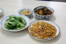 小两口的家常便饭,4个菜,成本不超过40块,小日子简单又温馨