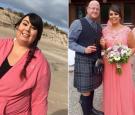 2年狂减100斤 胖女孩惊艳亮相父亲婚礼