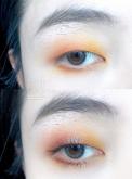 今日福利单眼皮眼妆,你是秋日暖阳我是星辰大海