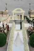 一共10套婚纱造型、拖尾达3米!文咏珊意大利古堡婚礼、婚纱造型