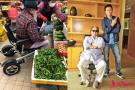 68岁洪金宝坐轮椅独自买菜身影落